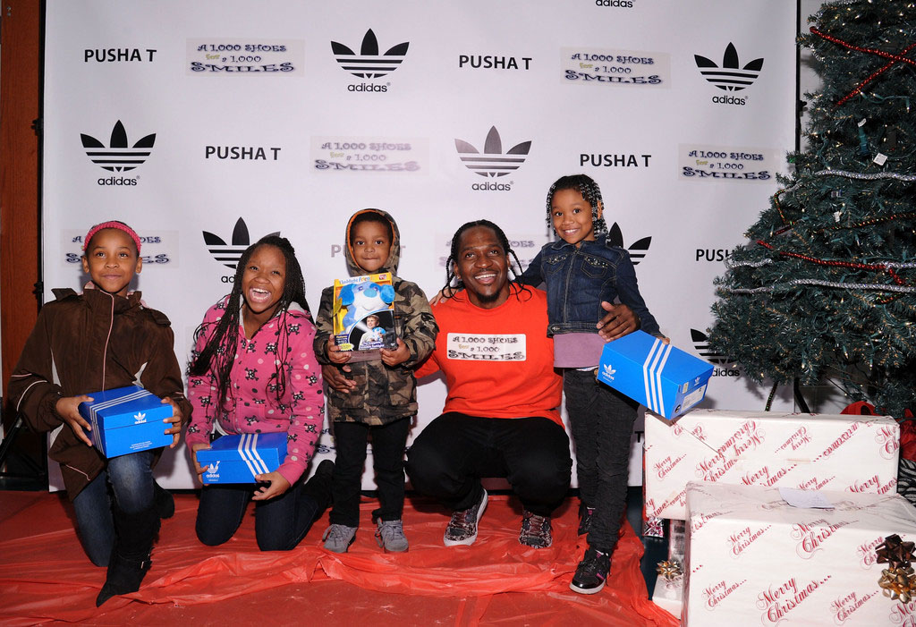 adidas Sponsors Pusha T 1000 Shoes for a 1000 Smiles Event (16)