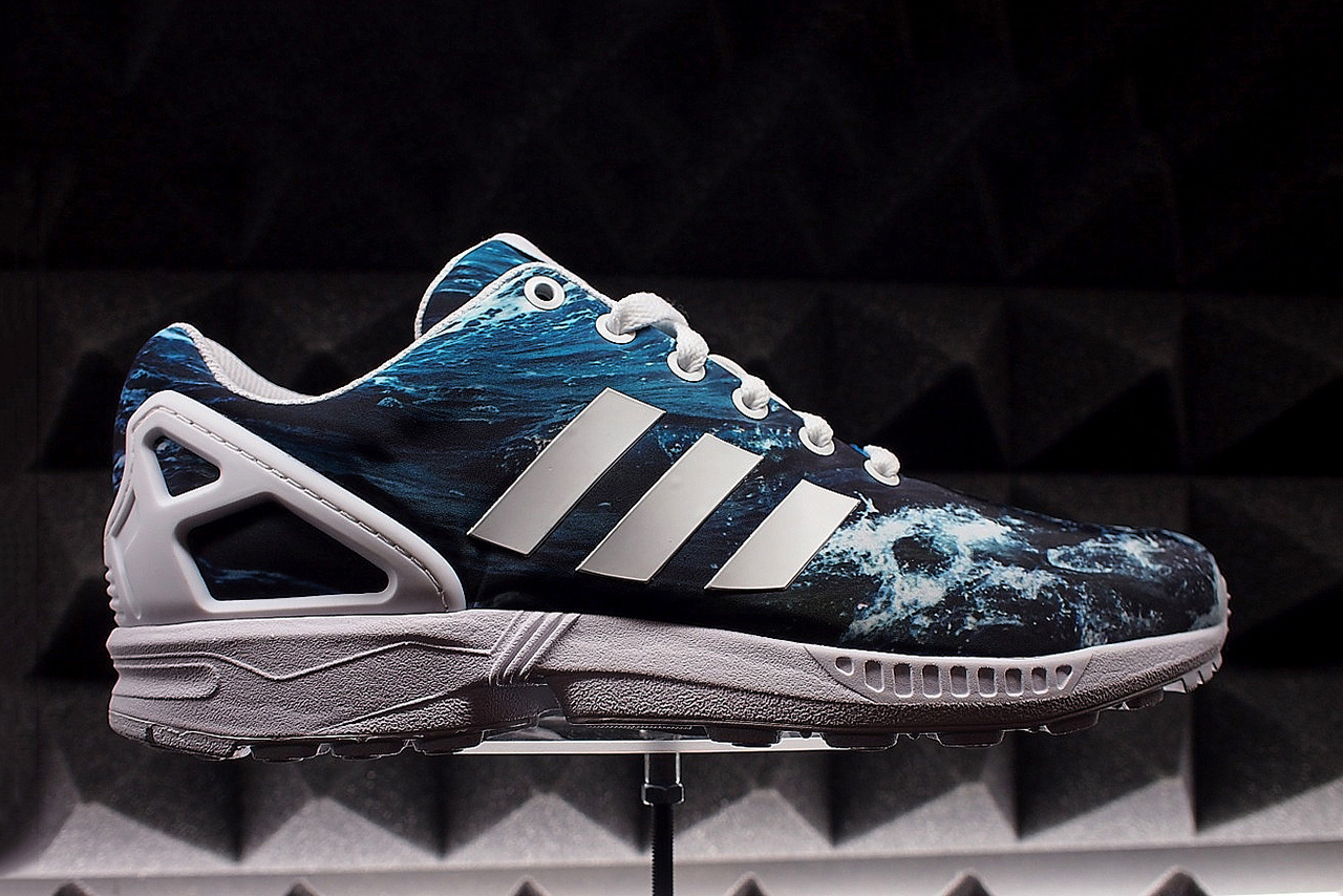 four spring colorways of the new adidas originals zx flux. Black Bedroom Furniture Sets. Home Design Ideas