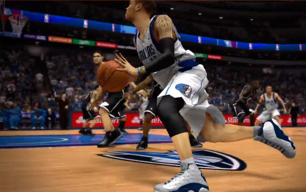 NBA 2K14 // Monta Ellis wearing Air Jordan XIII 13 PE