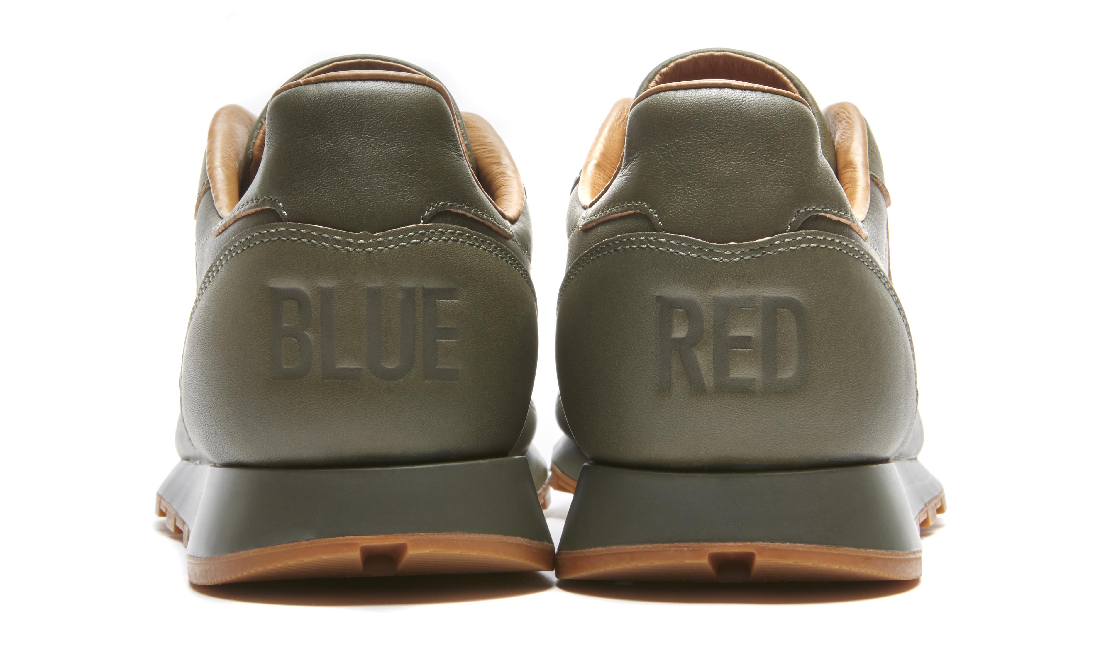 Kendrick Lamar Reebok Classic Leather Green Heel