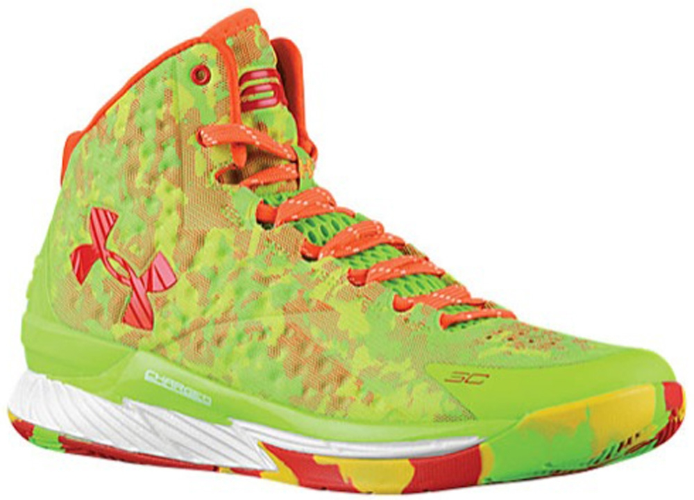 Under Armour Curry One Hyper Green/Team Orange