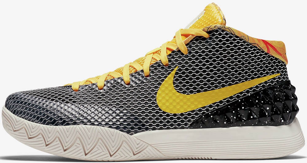 nike kyrie 1 yellow gold