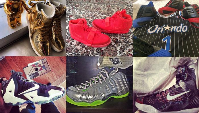 new concept e85c3 3f7ea Celebrity Sneaker Pickups  2.23.14