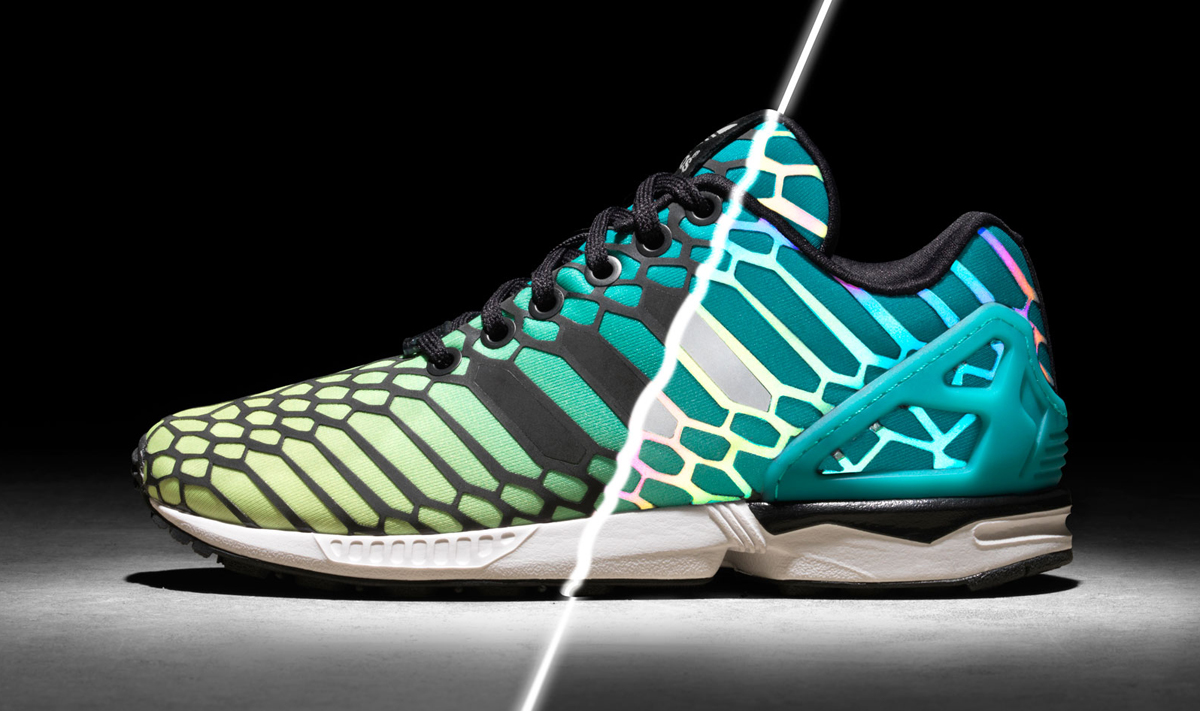 The sneaker release date for the adidas ZX Flux Xeno