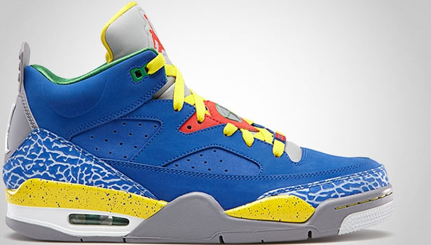 Jordan Son Of Mars Low Game Royal/Pimento-Tour Yellow-Cement Grey-Pine Green