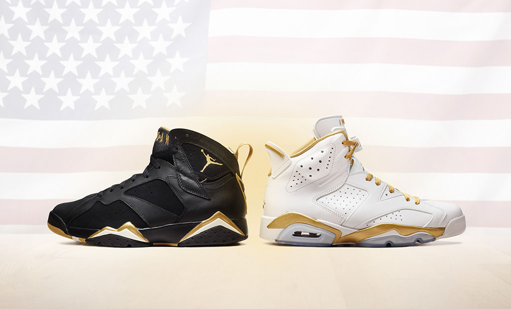 Air Jordan Golden Moments Pack Official VI 6 & VII 7 (2)