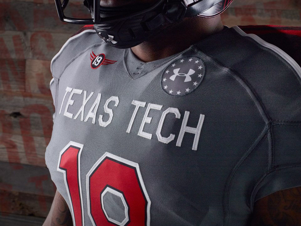 Under Armour Unveils 2013 Texas Tech Lone Survivor Uniforms (3)