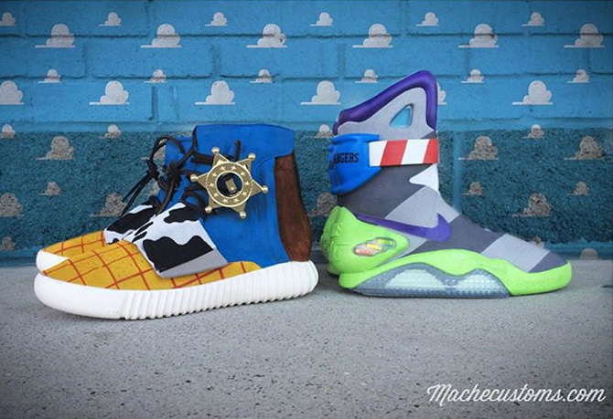 the best attitude f1f59 9f10b Two Of The Most Hyped Sneakers Were Just Given Toy Story-Inspired ...