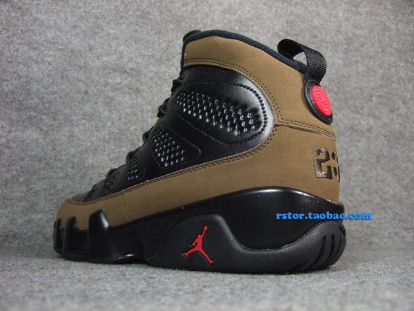 sports shoes 0bdec 664bf Air Jordan IX 9 Olive 302370-020 (2)