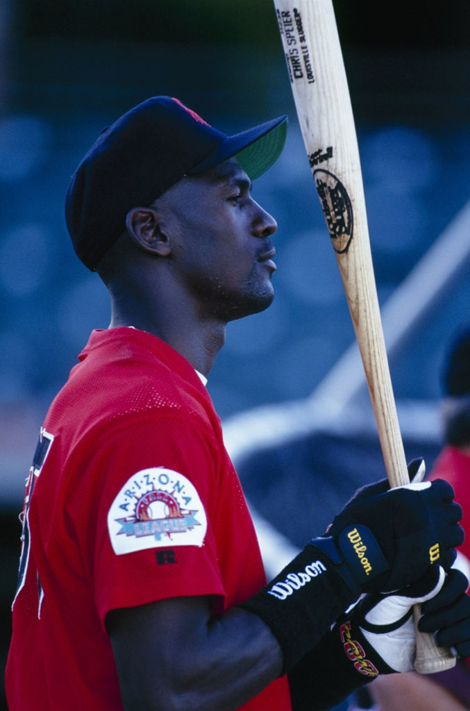 Michael Jordan Playing for the Scottsdale Scorpions