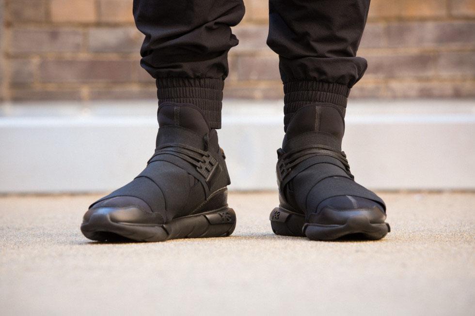 adidas y3 all black