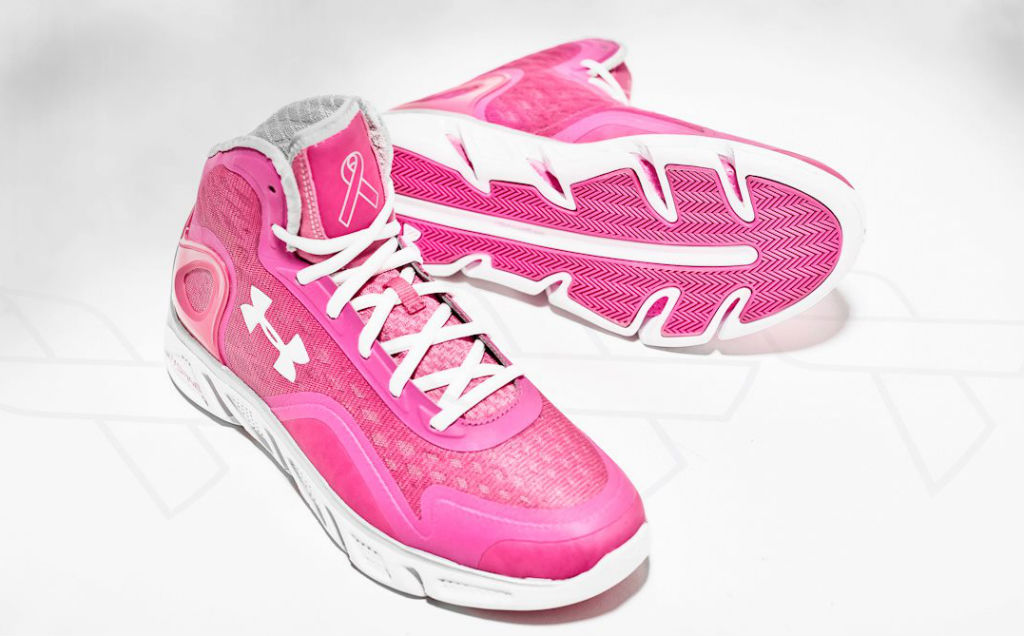 under armour breast cancer. under armour spine bionic - breast cancer awareness (1) o