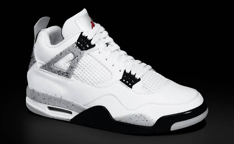 Air jordan retro 4 cement release date sole collector - Photos of all jordan shoes ...