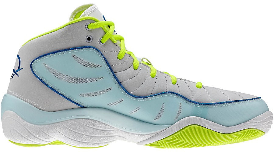 Reebok Answer XIV 14 Grey/Teal-Neon (3)