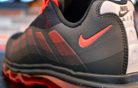 Nike Air Max+ 95 BB BlackSport Red Sole Collector  Sole Collector