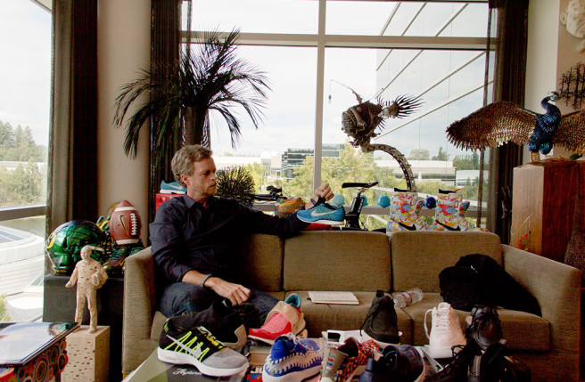 Nike CEO Mark Parker discusses the HTM project