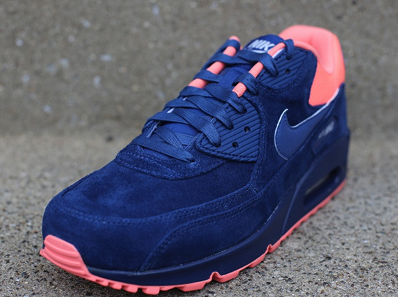 nike air max 90 prm brave blue\/atomic pink buy one get one