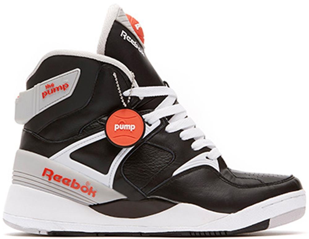 Reebok The Pump Certified Black/Grey-Orange-White