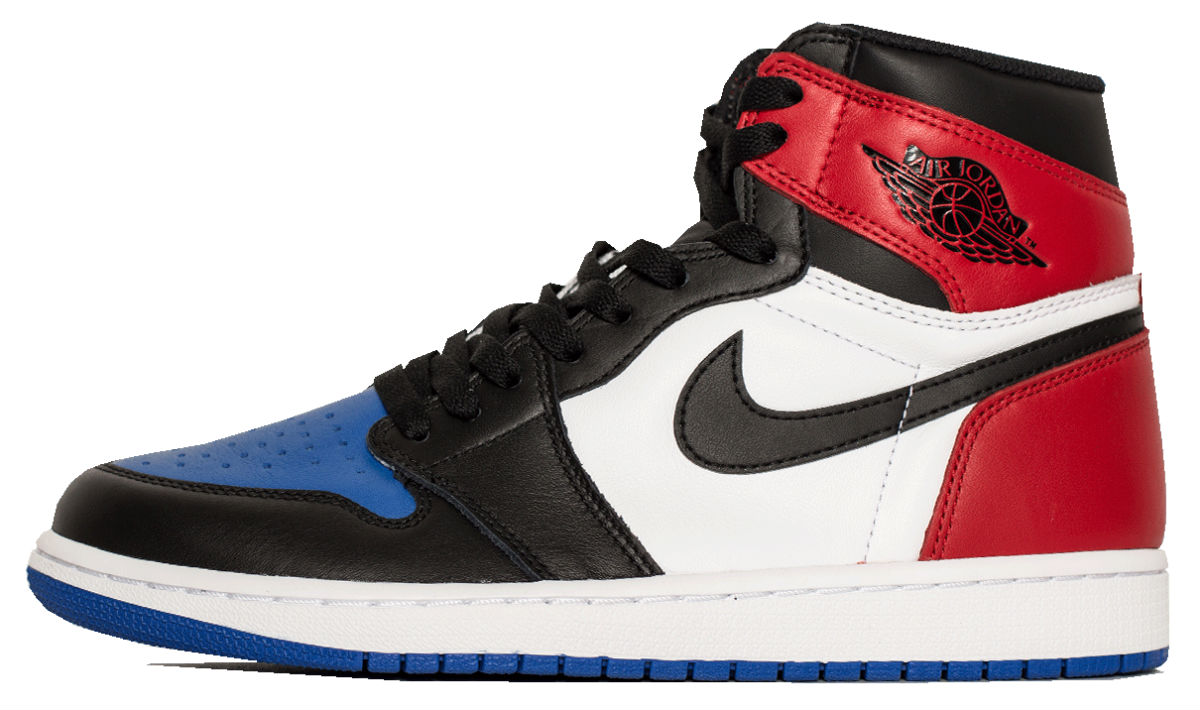 Air Jordan 1 Top Three Left Side 555088-026