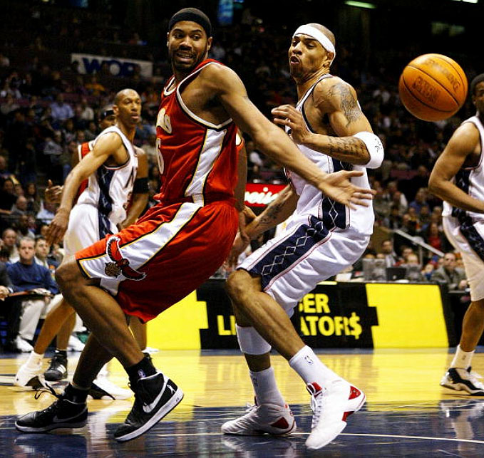 super cute 229a0 50a0a Flashback    Rasheed Wallace and His Air Force Ones