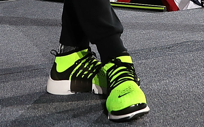 lebron james shoes 7 green flyknit