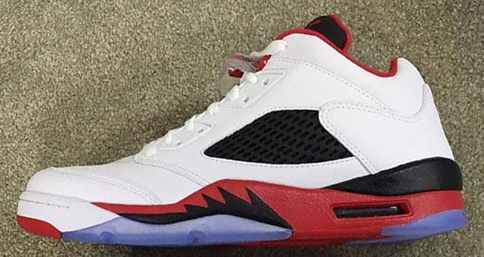 Air Jordan 5 Low Fire Red Release Date 819171-101