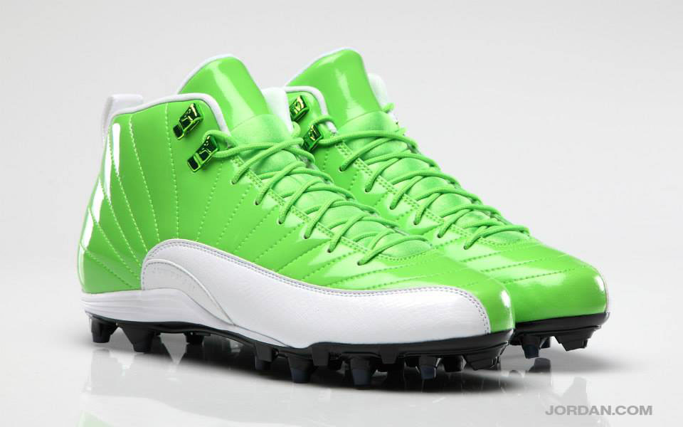 Earl Thomas' Air Jordan 12 XII Seahawks Home PE