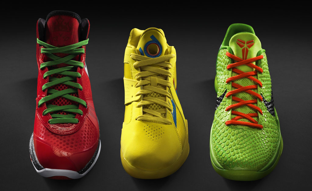 Poll // Best Nike Basketball Signature Christmas Pack // 2010