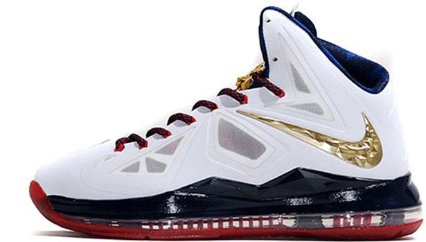 Nike LeBron X+ Sport Pack Gold Medal