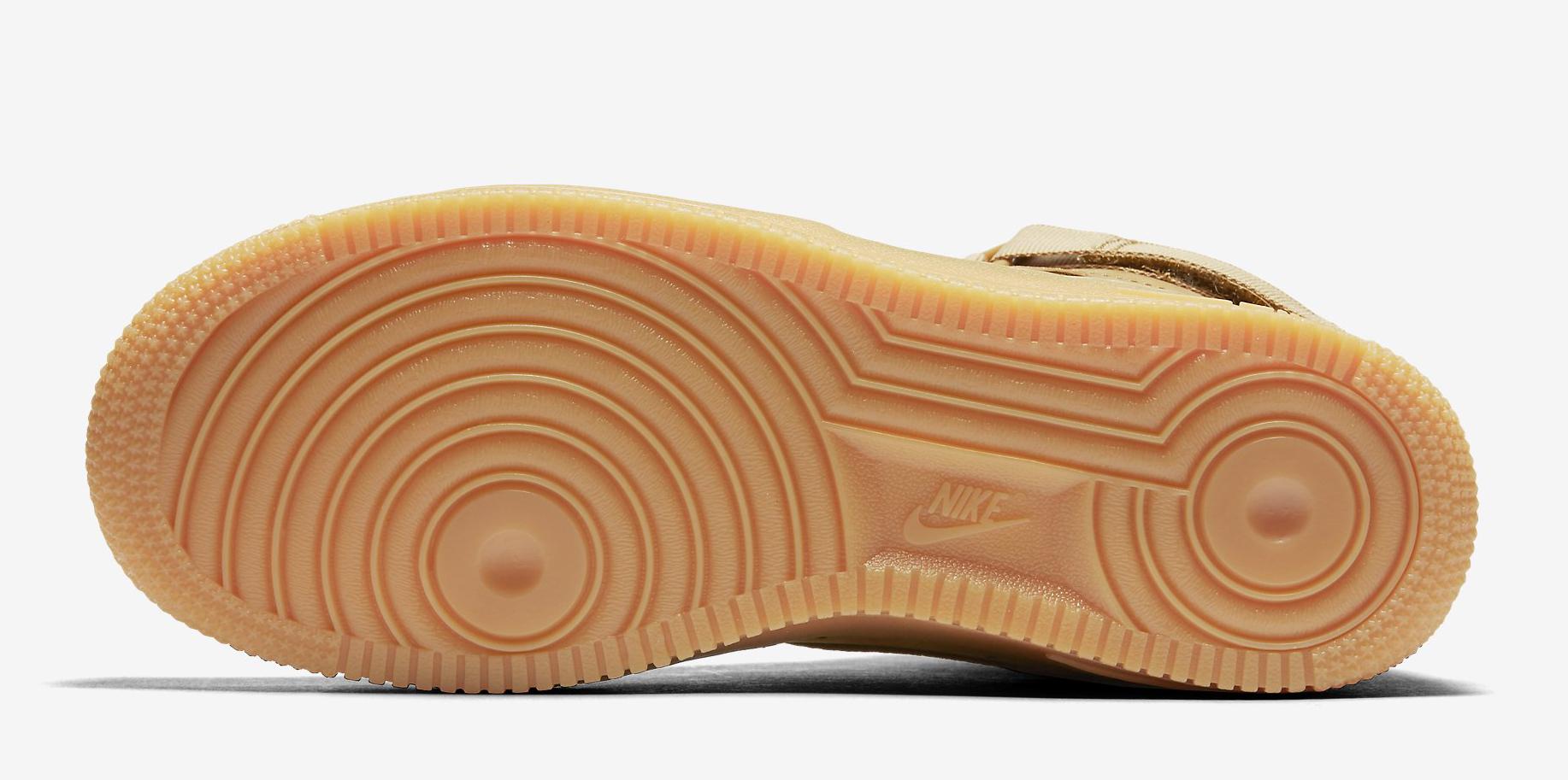 Wheat Nike Air Force 1 654440-200 Sole