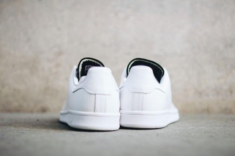 Adidas Stan Smith White/Black Heel S80019