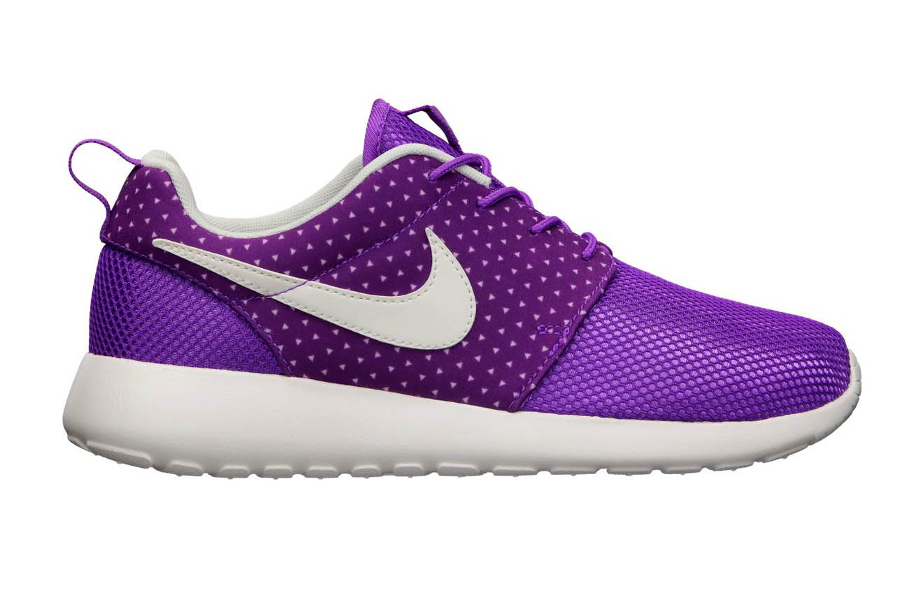 roshe run women purple