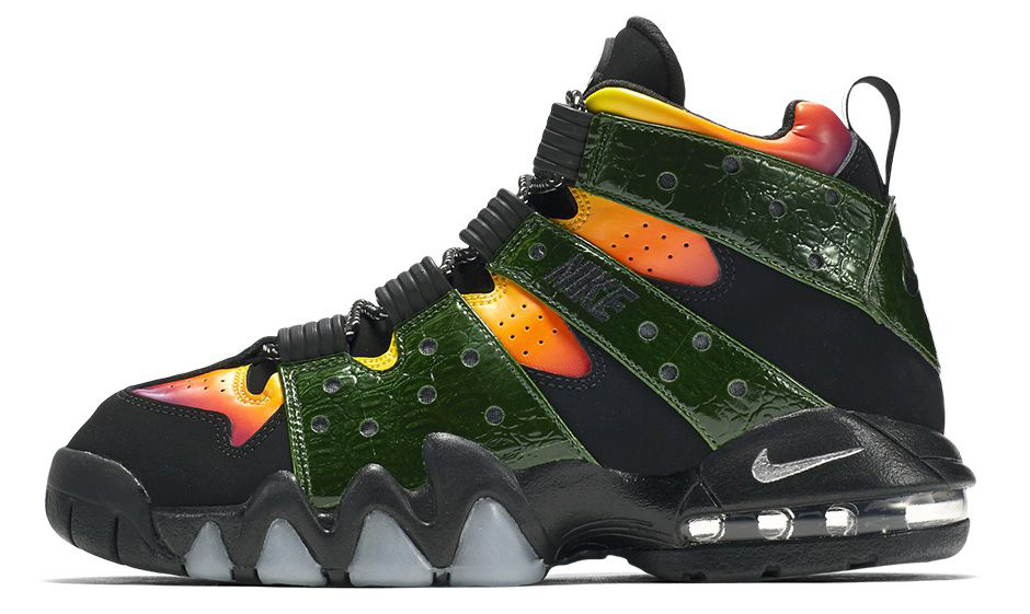 Nike Made These Charles Barkley Sneakers Look Like Godzilla