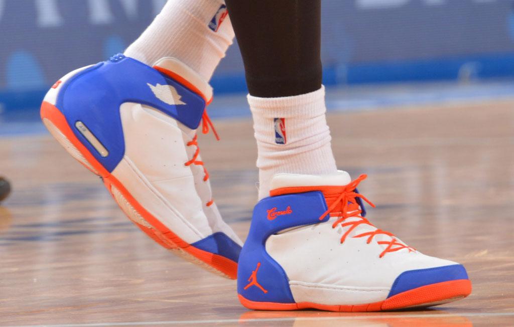 sports shoes 59201 f3b1d Jordan Melo 1.5 Knicks Home (1)