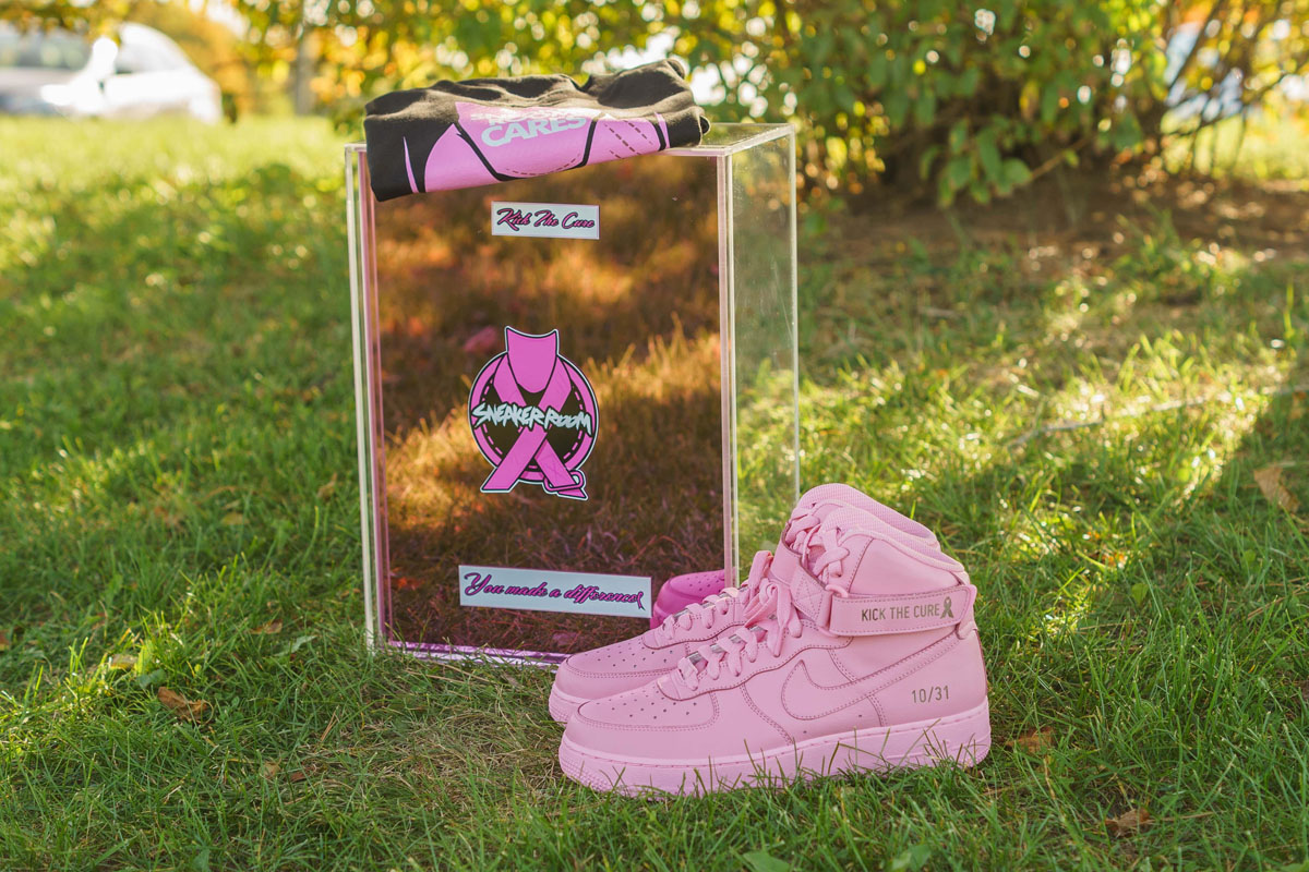 Sneaker Room x Nike Air Force 1 High Pink BCA (4)