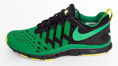 Nike Free Trainer 5.0 Oregon Ducks Away 621936-037 (2) b7aad3a4c1