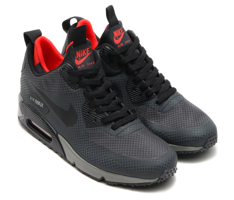 Nike Air Max 90 Utility Print Color: Anthracite/Black-Challenge Red Style #: 806850-006