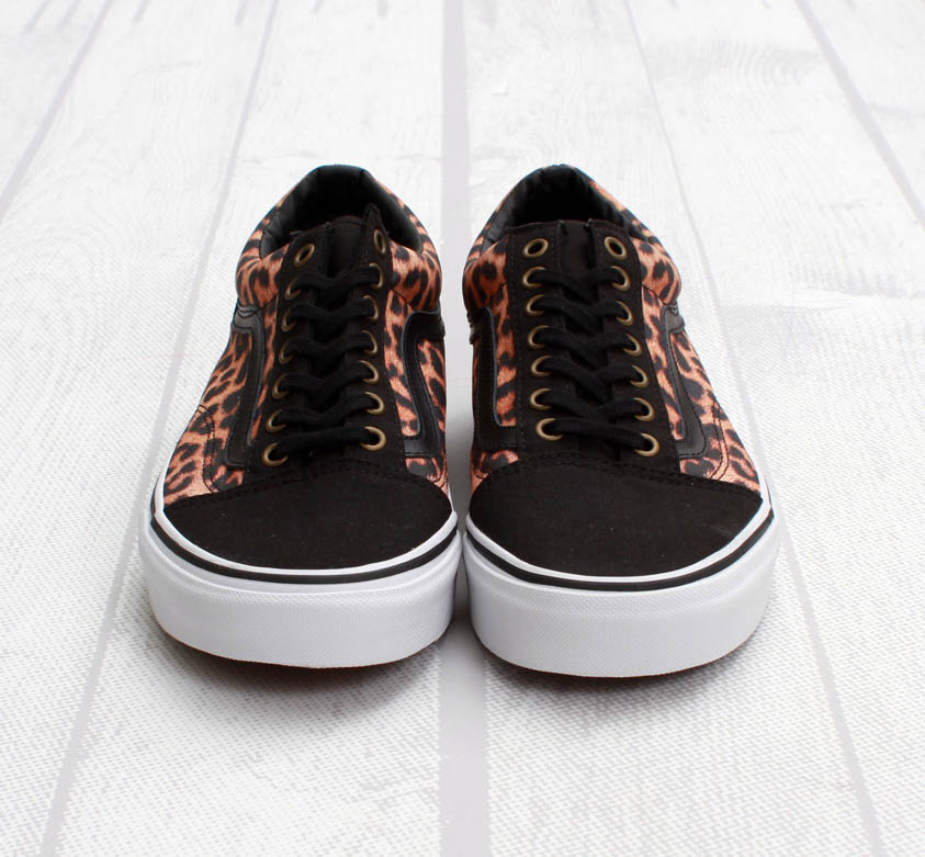 vans old skool leopardo
