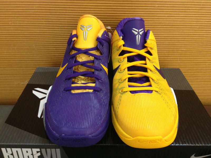 Nike Zoom Kobe 7 VII Lakers Away