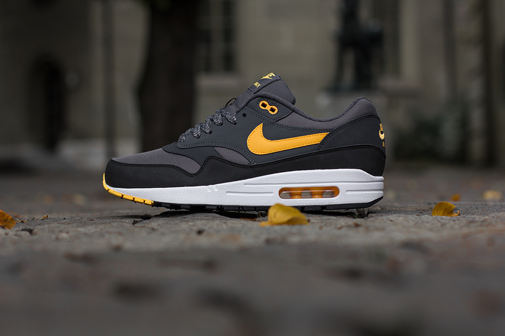 Air Max 1 black/black black white Nike
