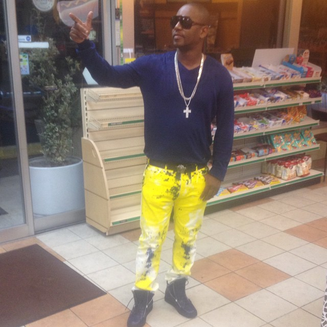 Cam'ron wearing Giuseppe Zanotti Zip-Up Sneakers