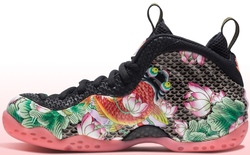 Nike Air Foamposite One YOTS QS Black/Black-Lava Glow-Lakeside