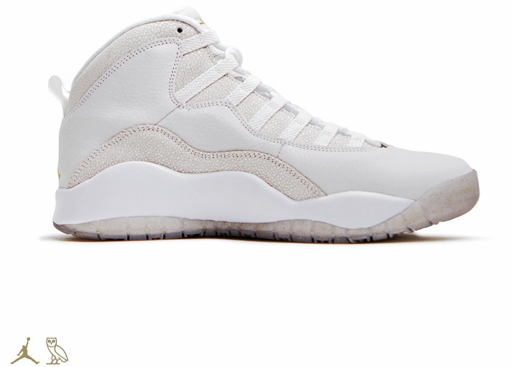 OVO x Air Jordan 10 White (2)