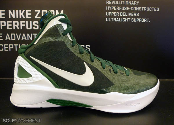 competitive price 0be5a 0e3de Nike Zoom Hyperdunk 2011 Gorge Green White 454143-300