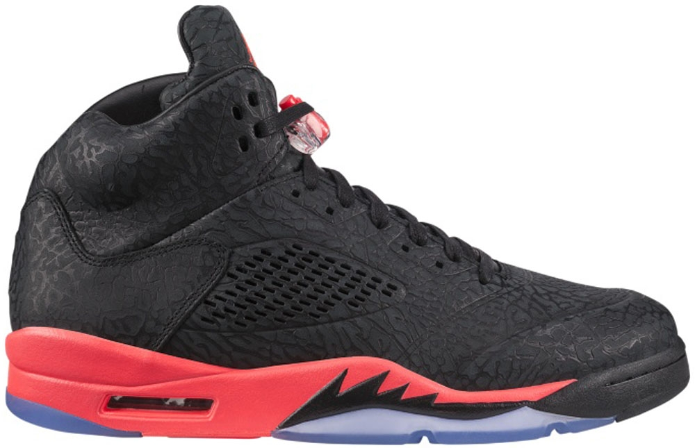 Air Jordan 3Lab5 Black/Infrared 23