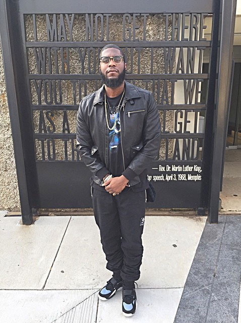 Big KRIT wearing Nike Air Trainer Huarache