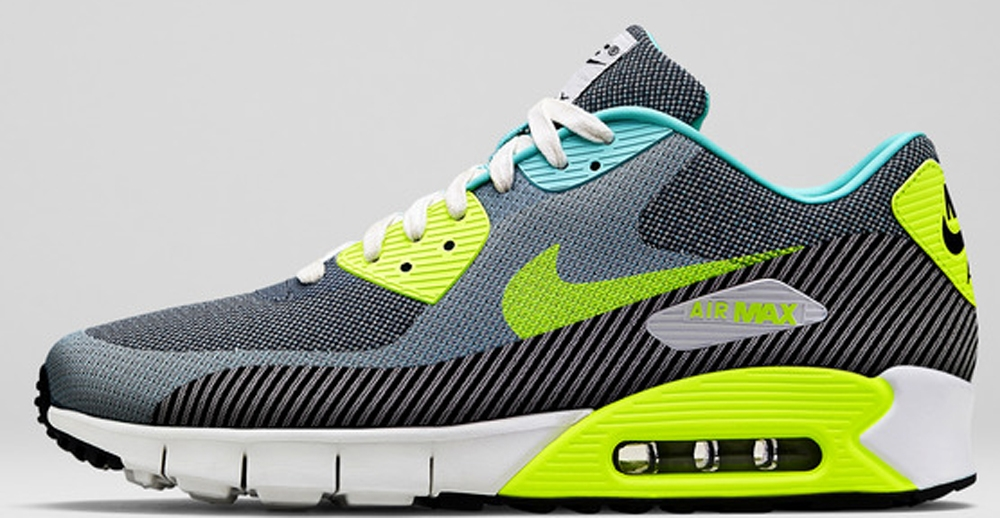 Nike Air Max '90 JCRD Premium Hyper Turquoise/Volt-Ivory-Anthracite