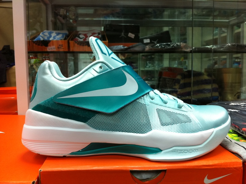 7bc2740437bf Nike Zoom KD IV 4 Easter Mint Candy 473679-301 (2)