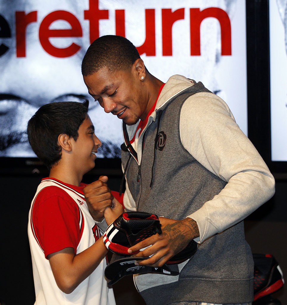 adidas D Rose 3 Signature Shoe & Apparel Launch Event Photos (5)