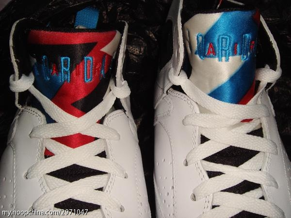 Air Jordan Retro 7 White Orion Blue Black Infrared 304775 105